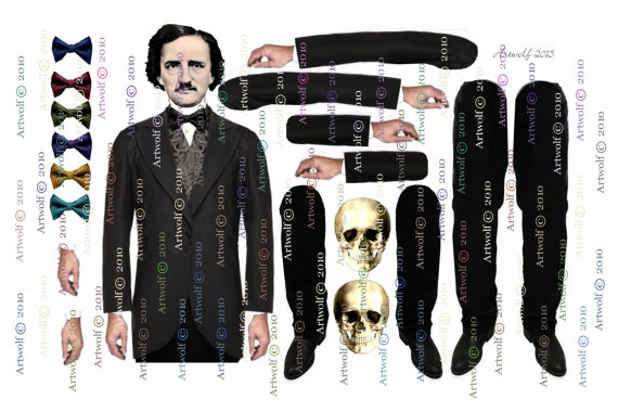 poe-paper-doll