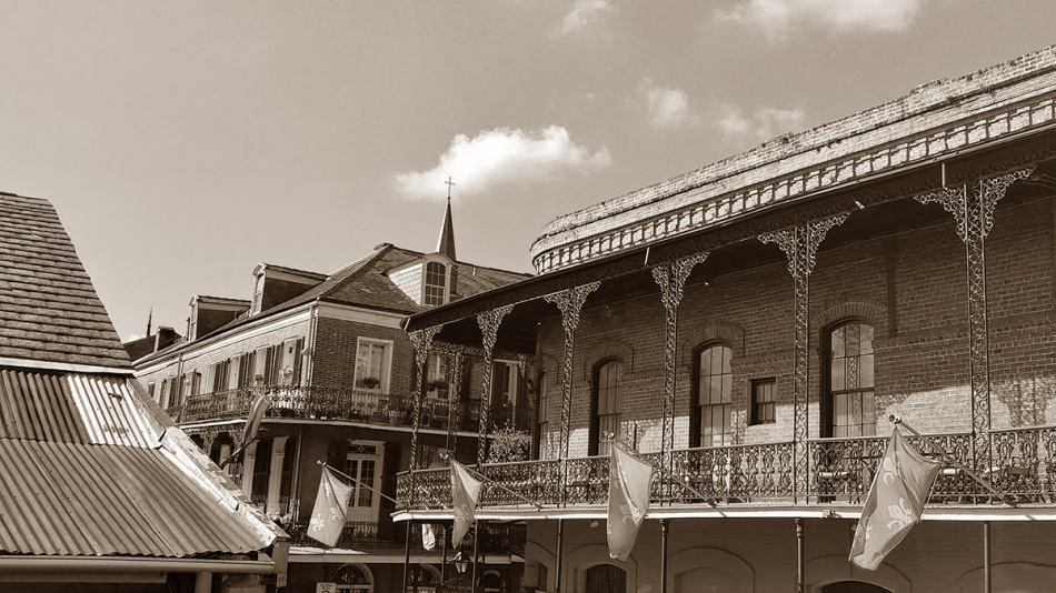 French Quarter Sepia (1)